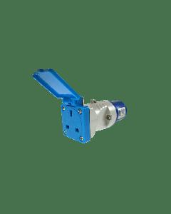 Maypole Caravan Plug To BS Socket Adaptor (230V - 16A )