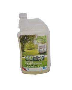 40 Shot Eco Green Cassette Fluid (1 Litre)