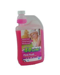 40 Shot Pink Toilet Rinse (1 Litre)