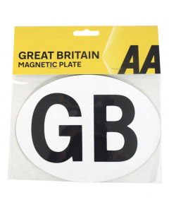 AA Re-usable Magnetic GB Badge