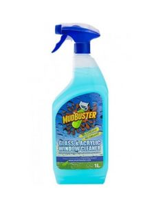 Mud Buster Glass & Acrylic Cleaner 1 Litre Spray