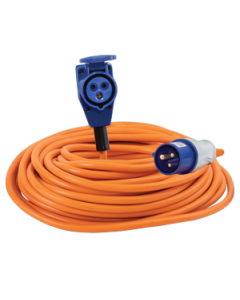Mains Lead with 90 Deg Connector (25 metres)