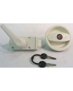 Zadi L/H Door Lock (Cream)