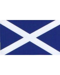 W4 Rectangle Scotland Flag Sticker