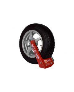 SAS Supaclamp Duo Silver Wheel Clamp