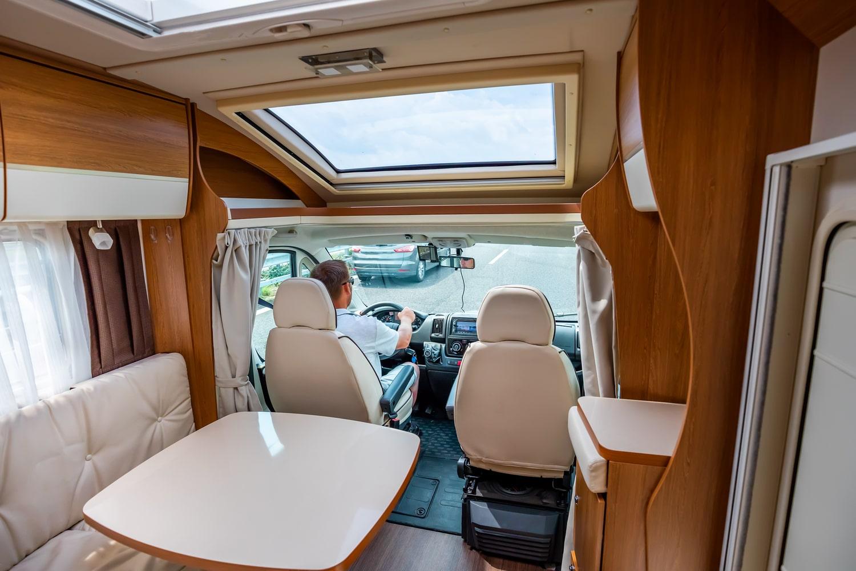 Caravan inside