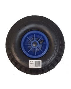 Pneumatic wheel with PVC rim