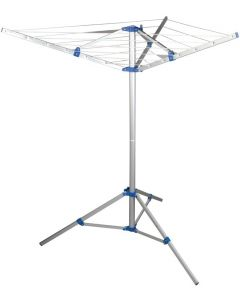 Fold Down Rotary Airer w/ Tri-pod and Carry Bag