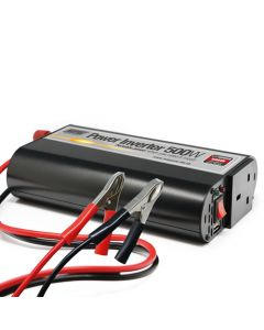 500W 12V/230V Power Inverter With USB