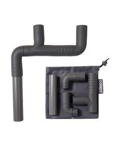 Colapz Flexi Waste Pipe Double Adaptor
