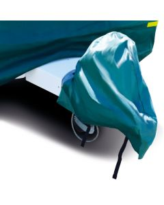 Breathable Green Hitch Cover