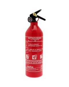 ABC Dry Powder Fire Extinguisher with Gauge (1kg)