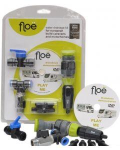 Floe European Caravan/Motorhome Water Tank Drainage Kit