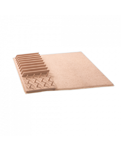 Drying Mat and Draining Rack (Beige)