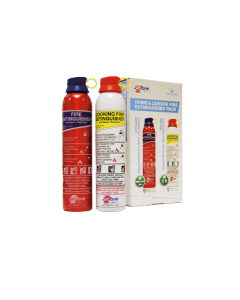 JacTone Home & Leisure Fire Extinguisher Pack