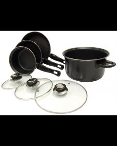 Leisurewize 7 Piece Cookware Set