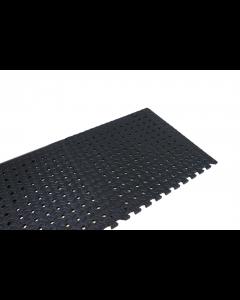 Leisurewize Standard Black EVA Flooring (Pack of 4)