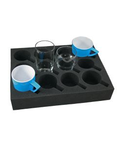 Universal Florence Foam Glass & Cup Holder