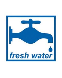 W4 Fresh Water Sticker