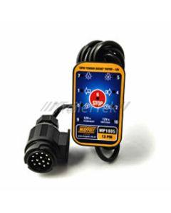 Towbar socket tester, 13 pin, 3.5m. cable