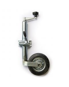 TT Jockey Wheel And Clamp (48mm Diameter)
