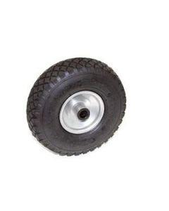 Pneumatic jockey wheel spare wheel with steel rim