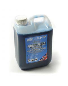 Toilet Fluid, blue, 2L., ECO friendly