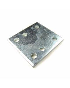 "4"" Drop Plate, zinc plated"