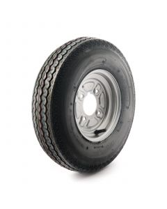 """4.80/4.00-8"""", 4 ply, 4 on 4"""" PCD wheel assembly"""