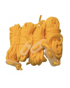 Via Mondo 4m Yellow Guylines (Pack of 4)