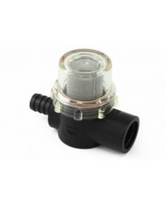 "Shurflo Water Pump Inline Screw On Barbed Water Filter (1/2"")"