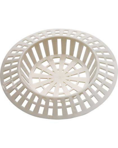 W4 Waste Sink Strainer White