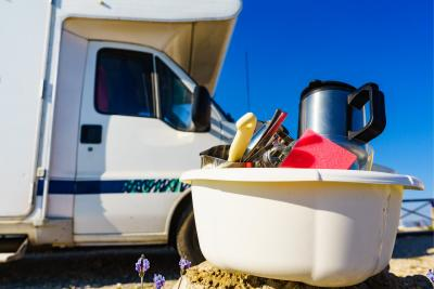 Deep Cleaning Your Caravan